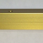 VGH- GOLD ANODIZED W/HOLES- 12 FOOT